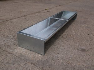 Galvanised Sheep Trough